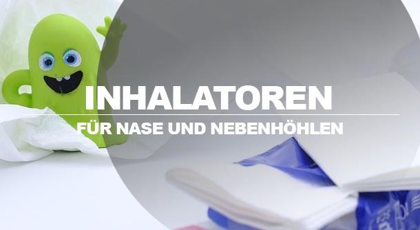 Inhalator für Nase und Nebenhöhlen